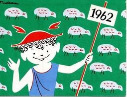 Petit Calendriers De 1962 De La Banque BNCI - Small : 1961-70