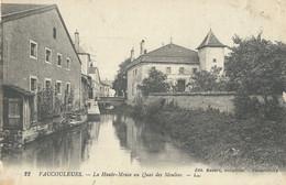 Vaucouleurs  La Haute Meuse Au  Quai Des Moulins - Sonstige Gemeinden