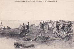 2523 169  Euphrate Racca Arabes Et Désert - Syrie