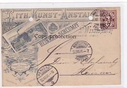 Winterthur - Lith. Kunstanstalt Heinrich Schlumpf - Vorläuferlitho - 1891 !!!       (P-351-10503) - ZH Zurich
