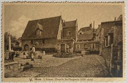Mons - L'attacat. - Chapelle Ste-Margueritte - Carte Non Circulée Datant De 1936 - Mons