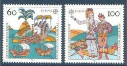 EUROPA  ALLEMAGNE Yv 1436/7 MNH Neufs** - - 1992