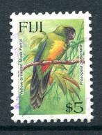 Fiji 1995 Birds - $5 Shining Parrot Used (SG 927) - Fiji (1970-...)