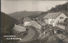 GOLDBACH. VUE DE ROSSBERG. CARTE PHOTO. TROUPEAU - Other Municipalities