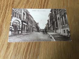 CP Ancienne Neuve D'Auvelais : Rue De La Station (1922) - Sambreville