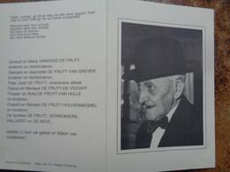 Doodsprentje/Bidprentje  Jérôme Joseph DE FRUYT  Oostkamp 1903-1990  (Wedr Martha Irma Hallaert) - Religión & Esoterismo