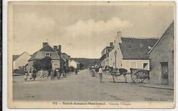 D 18.  SAINT AMAND MONTROND.   GRANDS VILLAGES AN 1908 - Saint-Amand-Montrond