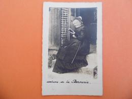 LA BERNERIE En RETZ  ( 44 ) Carte Photo De Mme PIJEOU En Costume Du Pays - La Bernerie-en-Retz