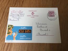 Belgique Publibel N°1941 Koffie «clé D'or» (cachet De Schaffen) - Publibels