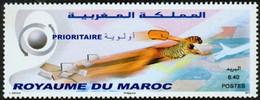 MAROC Timbre Prioritaire 1v 2011 Neuf ** MNH - Morocco (1956-...)