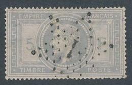 EB-339: FRANCE: Lot Avec Napoléon  N°33 Obl étoile1  (3 Clairs + Déchirure Sur 6/7 Mm) Bel Aspect - 1863-1870 Napoleon III Gelauwerd