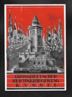 DR Großdeutscher Kriegertag Kassel SSt Kaiserslautern - Weltkrieg 1939-45