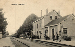 CHARENTE MARITIME - 17 - JARNAC - La Gare - Other Municipalities