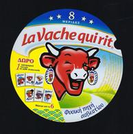 étiquette Fromage La Vache Qui Rit Bel 8 Mepiaez Portions 140g écriture étrangère 6 Dessins? N°L76003685  Neuve - Fromage