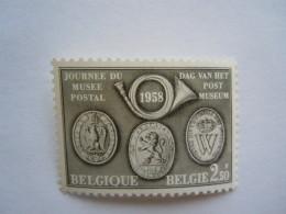 België Belgique 1958 Dag Van Het Postmuseum Journée Du Musée Postal 1046 MNH ** - Unused Stamps