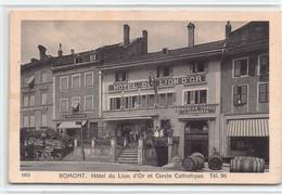 Romont - Hôtel Du Lion D'Or Et Cercle Catholique - FR Fribourg