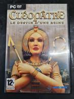 Pc Dvd-rom Cleopatre Le Destin D'une Reine +++ TBE +++ - Non Classificati