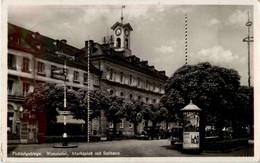 Wunsiedel - Marktplatz Mit Rathaus - Wunsiedel