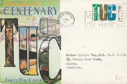 GB LETTRE FDC POUR LIVERPOOL 1968 - Briefe U. Dokumente