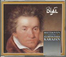 """3 CD+212-/- L.V.BEETHOVEN """" SYMPHONIE 1 à 6  """" Par H.V.KARAJAN  -  VOIR IMAGE VERSO POUR  DETAIL - Classica"""