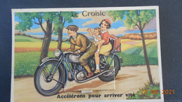 """CPSM - Carte-à-Système - Le Croisic - """"Accélérons Pour Arriver Vite"""" - Le Croisic"""