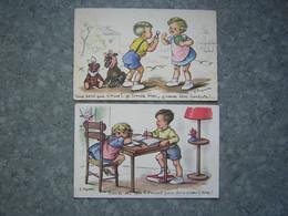 LOT DE 2 CARTES - J. LAGARDE - Altre Illustrazioni