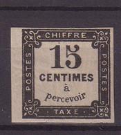 FRANCE : T N° 4 * . TB . SIGNE BRUN . 1863/70 .  ( CATALOGUE YVERT ) . - 1859-1955 Nuevos