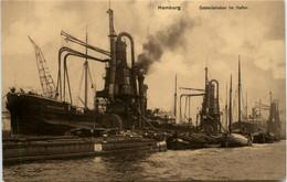 Hamburg, Getreideheber Im Hafen - Sonstige