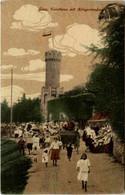 Jena, Forsthaus Mit Kriegerdenkmal - Jena