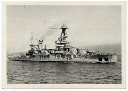 Guerre 1939-45.cuirassé La Lorraine Affecté à La 2e Escadre De La Flotte De La Méditerranée. - Guerra 1939-45