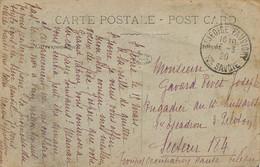 WWI Troupes Occupation Haute Silesie  Hussard  Envoi De St Jeoire En Faucigny Hte Savoie  Recto Belle Femme - Poland
