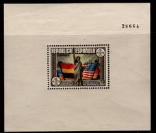 España 1937. Aniversario Constitucion De Los EEUU. Ed 764. MH. *. - 1931-50 Nuovi