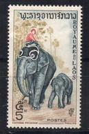 LAOS - 1958 - KINGDOM - ROYAUME - ELEPHANT - 5K - - Laos