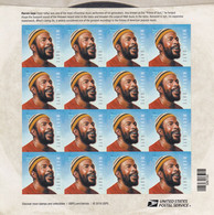 USA 2019 MARVIN GAYE 55c/ BOGEN ZU 20, NOMINAL US $ 11 - Ganze Bögen
