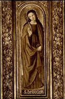 Monaco Sainte Dévote Par Louis Bréa Détail Du Retable De Saint Nicolas à La Cathédrale 1973 - Saint Nicholas Cathedral