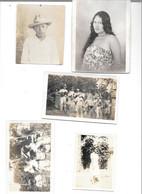 PAPEETE : Courrier De 1931, Photos Familiales, Le Pont De Papenoo - Ohne Zuordnung