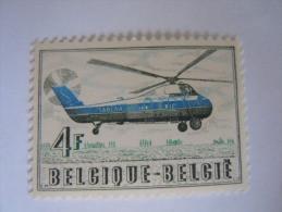 België Belgique 1957 Helikopter Hélicoptère Sikorsky S 58 Sabena 1012 MNH ** - Unused Stamps