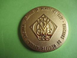 Médaille De Table Commémorative/ Membre Du Jury/Club Gastronomique Prosper Montagné/JAPON/Bronze Doré/1990    MED393 - Sonstige Länder