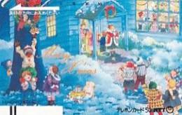 JAPAN - Merry Xmas(330-058), Tirage 60000, 12/86, Used - Natale