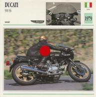 Transports - Sports Moto - Carte Fiche Technique Moto - Ducati 900 Ss - Sport - Italie 1979 - Motorradsport