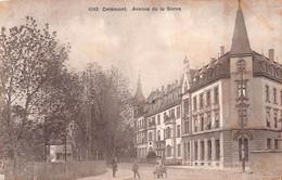 Delémont Avenue De La Sorne - Animée - Café Métropole - JU Jura