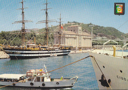 Postal 61761 : Malaga (Costa Del Sol). Barcos En El Puerto - Unclassified