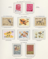 CHINA 1993, Year Issues Complete, Incl. Souvenir Sheets, Unmounted Mint - Lots & Serien