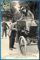 """CPA 75 """"PARIS NOUVEAU"""" Nos Jolies Cochères - ...Le Cadran Du Taxi Fournit Le Décompte... * Métier Femmes Cocher - Non Classificati"""