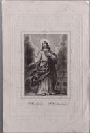 Francois Sebastien Verheyden-lokeren-termonde 1849-1 Kant Iets Geknipt Ongelijk - Devotion Images