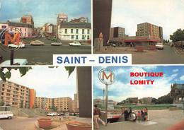 93 Saint Denis Cité Du Franc Moisin Immeuble Immeubles Habitation Logement Station De Métro St Denis Basilique - Saint Denis