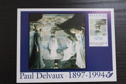 LX86 - Paul Delvaux - Zeer Mooi! - Feuillets De Luxe