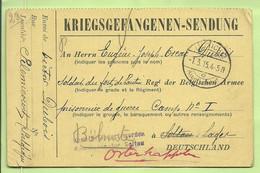 Kriegsgefangenensendung Van LUTTICH Naar SOLTAU (Camp N°1 Prisonnier De Guerre /Soldat Belge)  (3661*) - Prisonniers