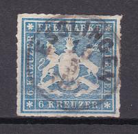 Wuerttemberg - 1865 - Michel Nr. 32 K1 - Gestempelt - 60 Euro - Wurttemberg
