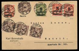 DEUTSCHES REICH 1923 INFLA Nr 334BP Und 333AP U.a X298652 - Briefe U. Dokumente
